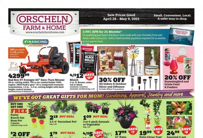 Orscheln Farm and Home Weekly Ad Flyer April 28 to May 9