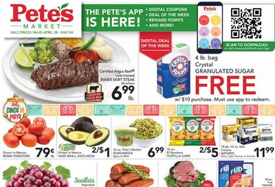 Pete's Fresh Market (IL) Weekly Ad Flyer April 28 to May 4