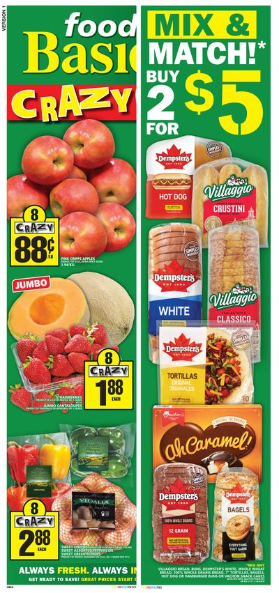 Food Basics Flyer April 29 to May 5