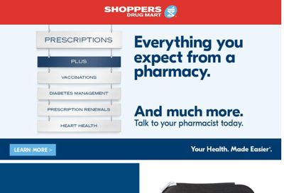 Shoppers Drug Mart (ON) Flyer May 1 to 6