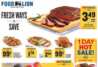 Food Lion (MD) Weekly Ad Flyer April 28 to May 4