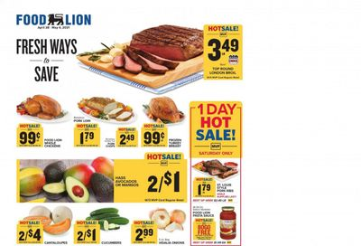 Food Lion (NC) Weekly Ad Flyer April 28 to May 4