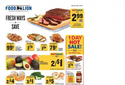 Food Lion (SC) Weekly Ad Flyer April 28 to May 4