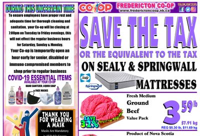 Fredericton Co-op Flyer April 29 to May 5