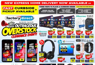 Factory Direct Flyer April 28 to May 5