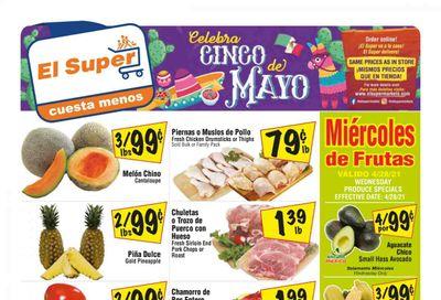 El Super (AZ, CA, NM, NV, TX) Weekly Ad Flyer April 28 to May 4