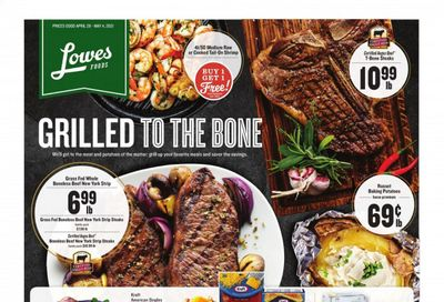 Lowes Foods Weekly Ad Flyer April 28 to May 4
