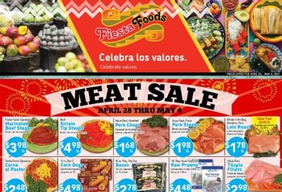 Fiesta Foods SuperMarkets Weekly Ad Flyer April 28 to May 4