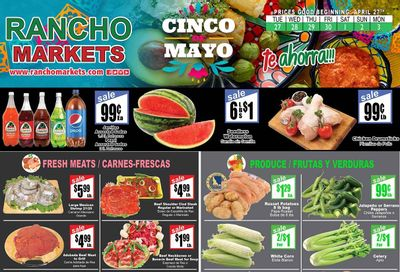Rancho Markets Weekly Ad Flyer April 27 to May 3