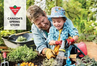 Canadian Tire Spring Awaits Flyer April 30 to May 13