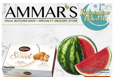 Ammar's Halal Meats Flyer April 29 to May 5