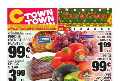 C-Town Weekly Ad Flyer April 30 to May 6