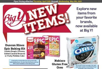 Big Y (CT, MA) Weekly Ad Flyer April 29 to May 5