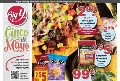 Big Y (MA) Weekly Ad Flyer April 29 to May 5