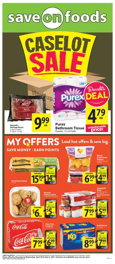 Save on Foods (BC) Flyer April 29 to May 5