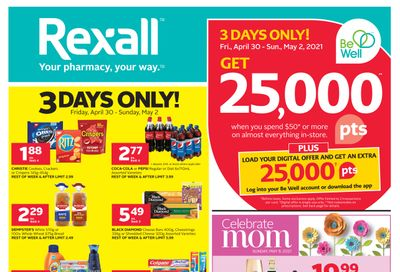 Rexall (West) Flyer April 30 to May 6