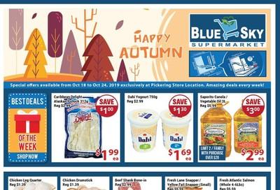 Blue Sky Supermarket (Pickering) Flyer October 18 to 24