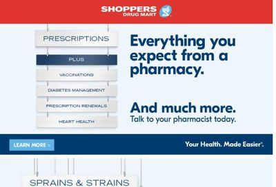 Shoppers Drug Mart (West) Flyer May 1 to 6