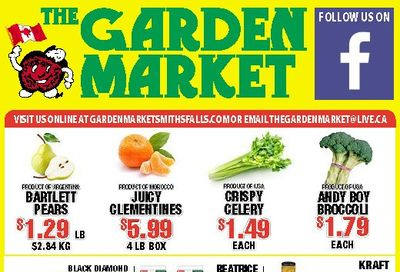 The Garden Market Flyer April 30 to May 6