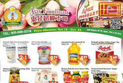 Ajax Foodmart Flyer October 18 to 24