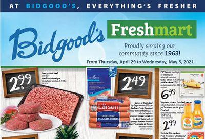 Bidgood's Flyer April 29 to May 5
