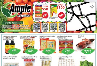 Ample Food Market (North York) Flyer April 30 to May 6
