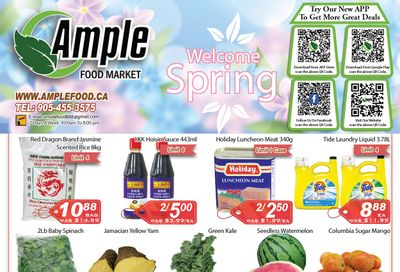 Ample Food Market (Brampton) Flyer April 30 to May 6
