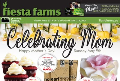 Fiesta Farms Flyer April 30 to May 13