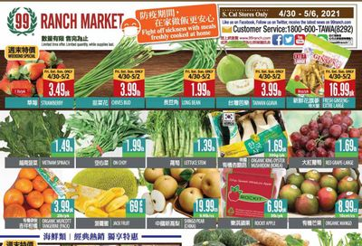 99 Ranch Market (CA) Weekly Ad Flyer April 30 to May 6