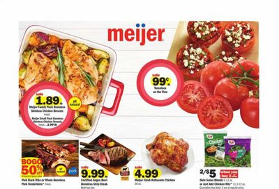 Meijer (WI) Weekly Ad Flyer May 2 to May 8