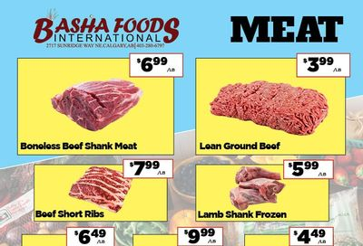 Basha Foods International Flyer April 30 to May 13