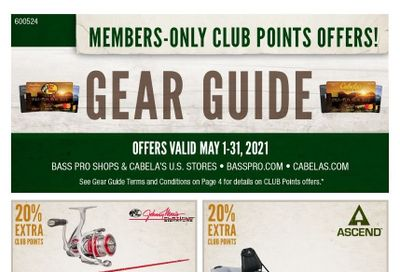 Cabela's Weekly Ad Flyer May 1 to May 31