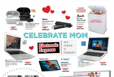 Electronic Express Weekly Ad Flyer May 2 to May 8