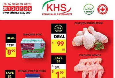 Kishki Halal Supermarket Flyer April 30 to May 6
