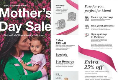 Macy's Weekly Ad Flyer May 4 to May 9
