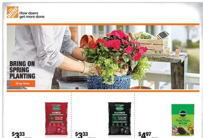 The Home Depot Weekly Ad Flyer April 29 to May 6
