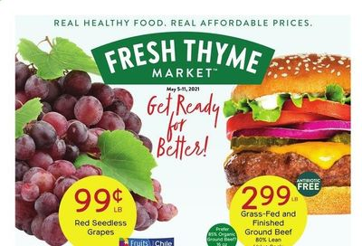 Fresh Thyme Weekly Ad Flyer May 5 to May 11
