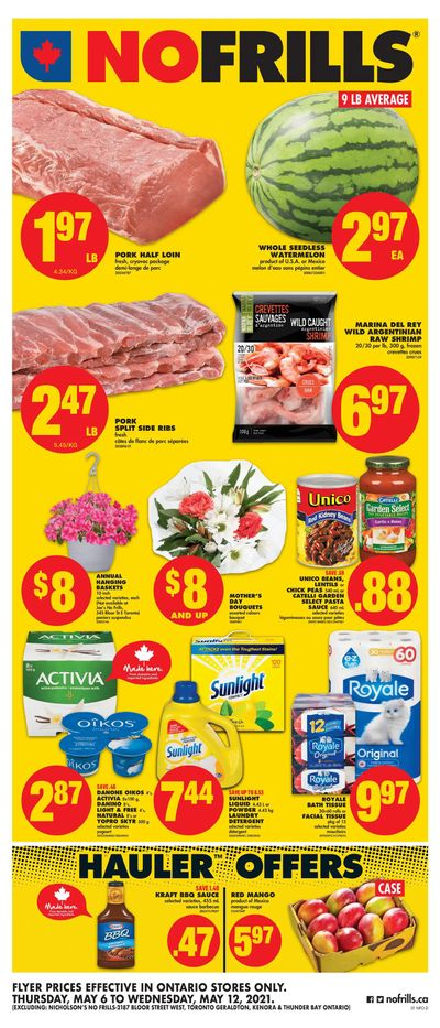 No Frills (ON) Flyer May 6 to 12