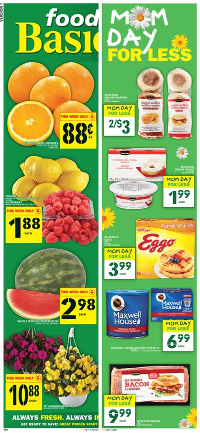 Food Basics Flyer May 6 to 12