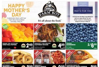 Farm Boy (Brantford, Burlington, Cambridge, Cornwall, Hamilton, Kingston, Kitchener, London, Newmarket, Ottawa, St. Catharines) Flyer May 6 to 12
