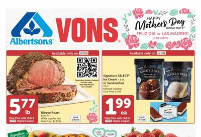 Vons (CA) Weekly Ad Flyer May 5 to May 11