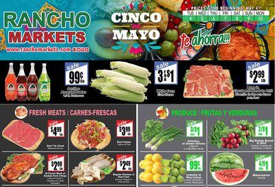 Rancho Markets (UT) Weekly Ad Flyer May 4 to May 10