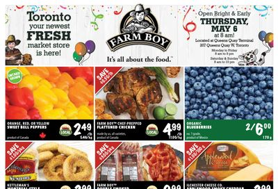Farm Boy (Oakville, Pickering, Toronto and Whitby) Flyer May 6 to 12