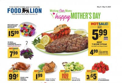 Food Lion (SC) Weekly Ad Flyer May 5 to May 11