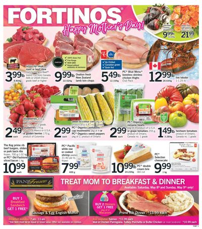 Fortinos Flyer May 6 to 12