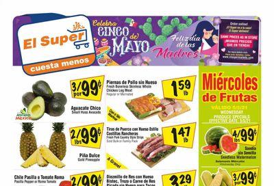 El Super (CA, NM, NV, TX) Weekly Ad Flyer May 5 to May 11