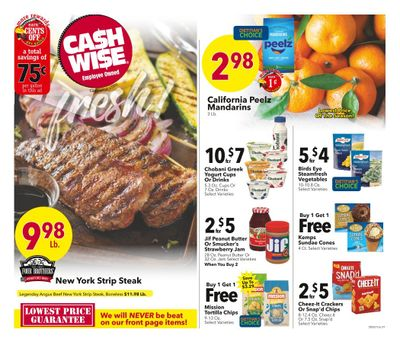 Cash Wise (MN, ND) Weekly Ad Flyer May 5 to May 11