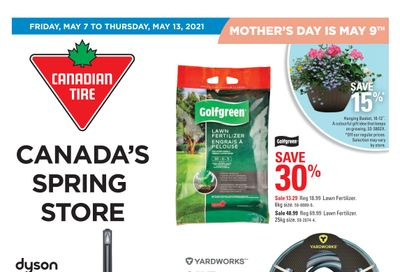 Canadian Tire (ON) Flyer May 7 to 13