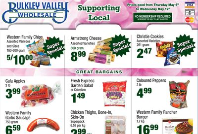 Bulkley Valley Wholesale Flyer May 6 to 12