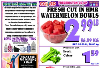 Fredericton Co-op Flyer May 6 to 12